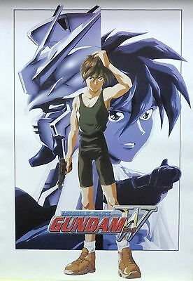 GUNDAM WING-Mobile Suit-Anime-Licensed POSTER-90cm x 60cm-Brand New