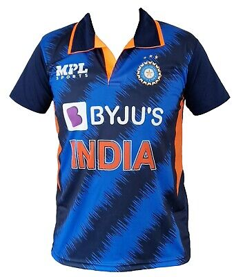 India Team Cricket Jersey 2017 Indian shirt / Jersey IPL ODI T20 OPPO World Cup