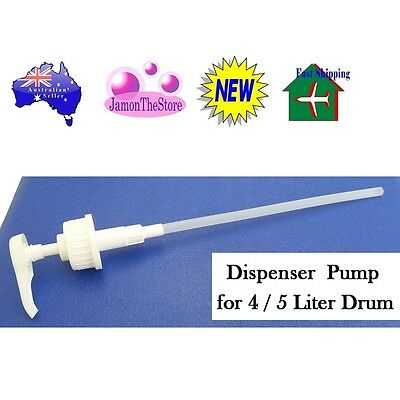 Plastic Dispenser Push Pump for 4 & 5 Liter Drum Bottle Liquid Soap Cream Lotion