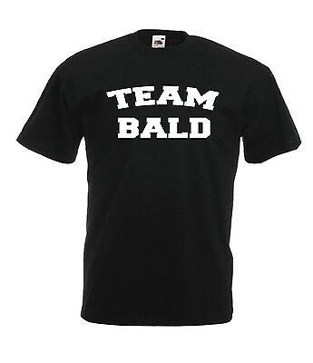 TEAM BALD funny present NEW Mens Womens T SHIRT TOP size 8 10 12 14 s m l xl xxl