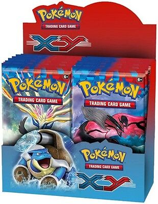 POKEMON ENGLISH XY Booster Box 36ct SEALED IN HAND!!