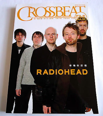 RADIOHEAD CROSSBEAT FILE Vol.10 JAPAN BOOK 2008 SHINKO MUSIC Tom Yorke