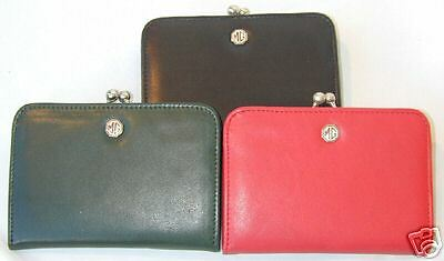 Ladies Mg Frame Purse, Leather, Brand New (Mgr94)