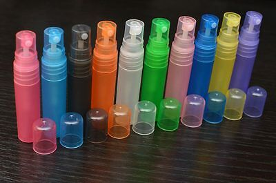 5ml refillable perfume atomiser travel spray bottle purse atomizer plastic