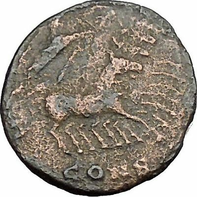 CONSTANTINE I the GREAT Heaven Chariot Ancient Roman Coin Deification  i37512