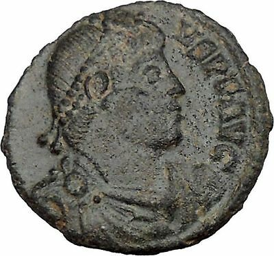JOVIAN 363AD Rare Genuine  Ancient Roman Coin WREATH of success i37518
