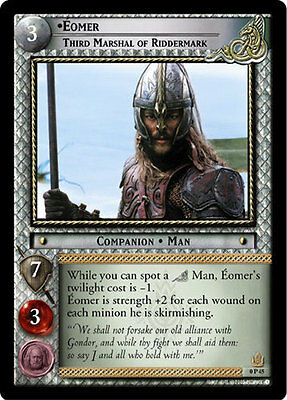 LORD OF THE RINGS TCG EORED LEADER foil CCG PROMO 0P80 EOMER