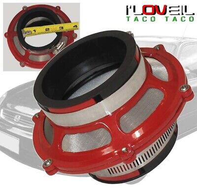 """2.75/"""" 70mm BLUE ByPass Valve Filter For Cold Air Intake Kit"""