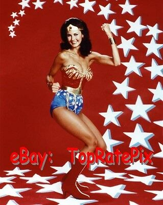 LYNDA CARTER  -  Sexy Superhero: Wonder Woman  -  8x10 Photo #5
