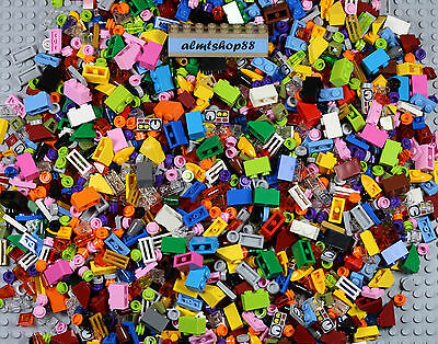 LEGO - Random Lot of 1x1 1x2 small parts pieces bricks tiles plates bulk huge