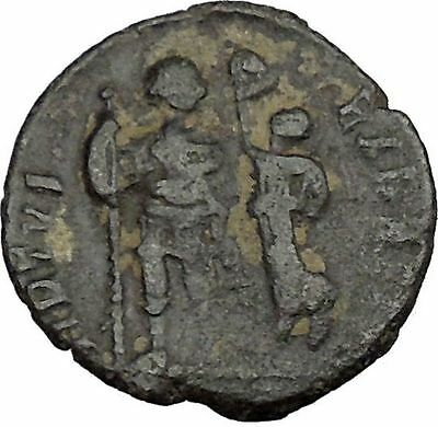 Arcadius crowned by Victory 395AD Rare Authentic Ancient Roman Coin  i37572