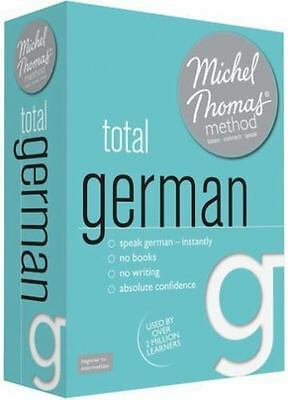 Total German with the Michel Thomas Method by Michel Thomas (CD-Audio) BRAND NEW