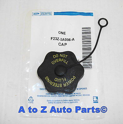 NEW 92-07 Ford, Lincoln, Mercury ORM Power Steering RESERVOIR CAP, OEM Ford