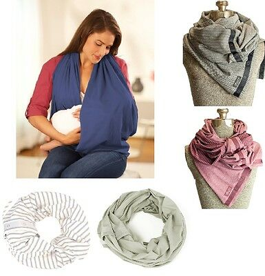 NuRoo Nursing Scarf Breastfeeding Privacy Cover-Up - Fashionable and Functional