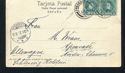 1907 Spain Canary Islands Paquebot To Germany