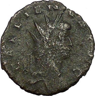 Gallienus Valerian I son Ancient  Roman Coin Security & stability Cult   i34726