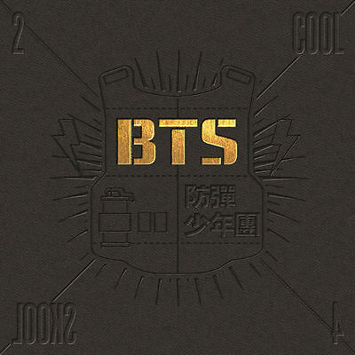 BTS - [2 COOL 4 SKOOL] 1st Single Album CD+Booklet+Store Gift K-POP Sealed