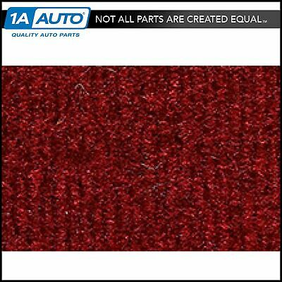 for 1974-83 Jeep Wagoneer Cutpile 4305-Oxblood Cargo Area Carpet Molded