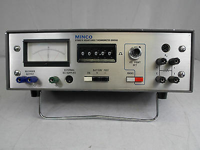 Minco Rtb8078 Resistance Thermometer Bridge