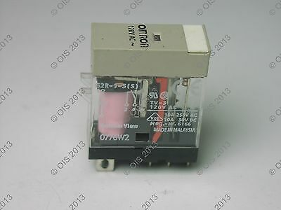 OMRON G2R-1-S 120VAC (S) RELAY SPDT 120VAC COIL 10A@250VAC /30VDC USED TESTED