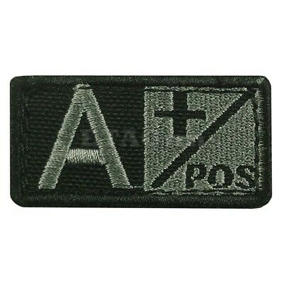 CONDOR 229A+ Tactical Military Blood Type Patch A Positive A+ FOLIAGE