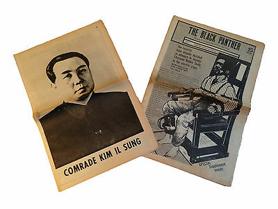 Black Panther Community Newspaper & Extra 1970 Bobby Seale Huey Newton