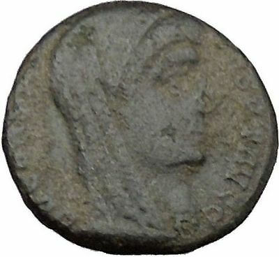 CONSTANTINE I the GREAT Cult  Ancient Roman Coin Christian Deification  i37840