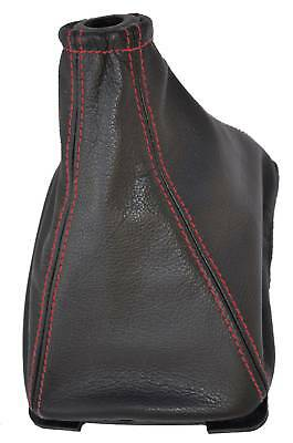 Fits Peugeot 205 & Gti 83-98 Leather Gear Boot Red St