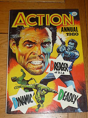 ACTION Annual - Year 1980 - UK Comic Annual ( Price Tab Removed )
