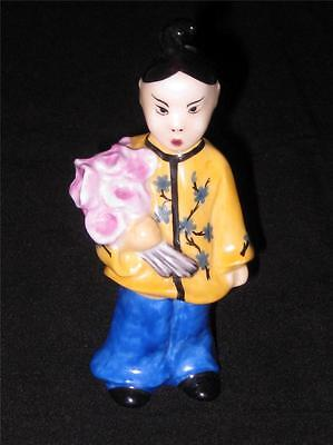 Herend Chinese Flower Girl 5655 - 12.5cm (5 ins.)