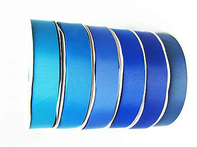 "Wholesale Grossgrain Ribbon 5/8"" /16mm. 100 Yards,ALL Blue s colors to Choose"