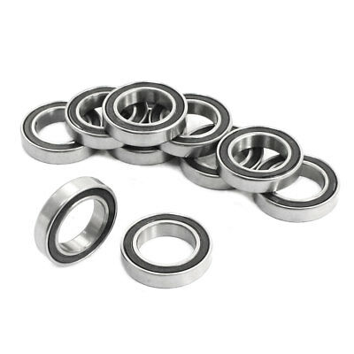 10Pcs 6802ZZ 15x24x5mm Metal Shielded Sealed Deep Groove Ball Bearings