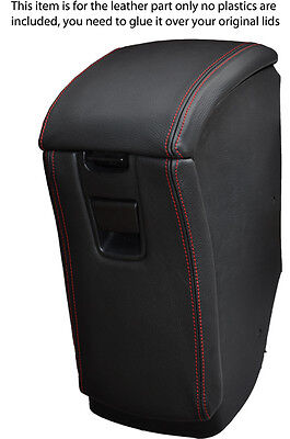 red stitch FITS TOYOTA MR2 MK2 1989-2000 ARMREST&STORAGE BOX LID COVERS LEATHER