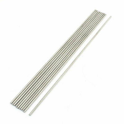 10 Pcs Stainless Steel 300mmx3mm Round Rod for RC Airplane