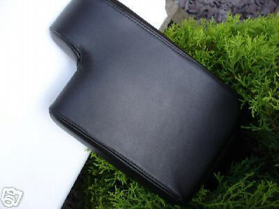 Fits Bmw E36 Armrest Cover Genuine Leather Cover Black