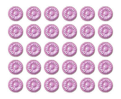 100 Pink Milk Chocolate Flowers-Wedding Favours Baby Shower Kids Birthday Party