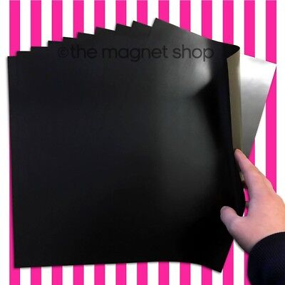 10 A4 Magnetic Sheets 0.4mm Flexible for Die Storage, Spellbinders and Crafts