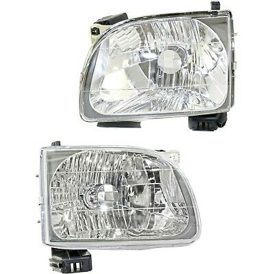 01-04 Toyota Tacoma Pickup Truck Headlights Headlamps LH & Right RH Pair Set
