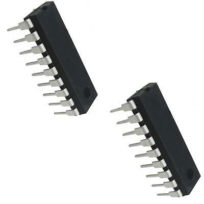 2X ULN2803A 8 Darlington Arrays With Common Emitters IC DIP-18