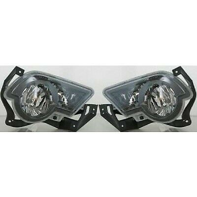 Set of 2 Clear Lens Fog Light For 2002-06 Chevrolet Avalanche 1500 LH & RH