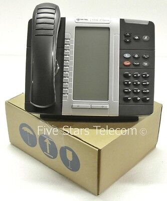 Mitel 5330E IP VoIP Gigabit Phone Telephone Black (50006476) - NEW