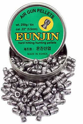 Eun Jin Pellets - Domed & Pointed - .177 .22 .25 - You Choose!
