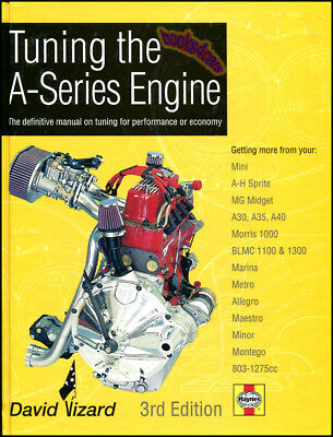 Tuning A-Series Engine Manual Book Vizard Mg Midget Austin Healey Sprite Mini Gt