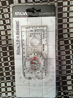 Silva Sweden Expedition 54 360 Night Compass Outdoor Hiking Camping 358521015 MS