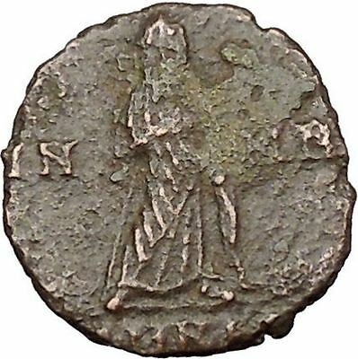 CONSTANTINE I the GREAT Cult  Ancient Roman Coin Christian Deification  i38126