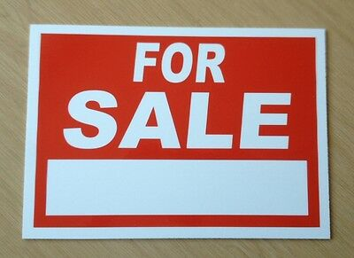 For Sale Sign - with space for your own words.. (BL-26)
