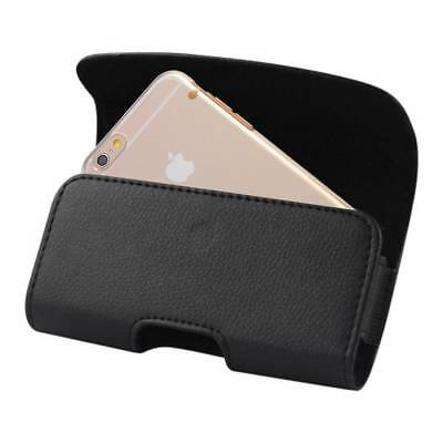 iPHONE 5 5S 5C SE Belt clip Holster Leather loop Pouch fits Thin case on Phone