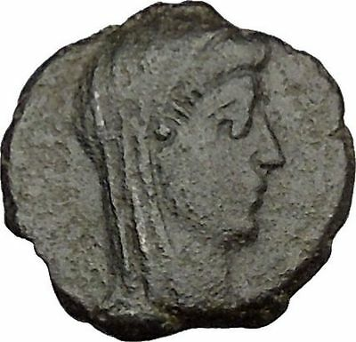 CONSTANTINE I the GREAT Cult  Ancient Roman Coin Christian Deification  i38141