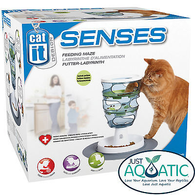 FREE SHIPPING Catit® Design Senses Food Maze Feeding Great Toy For Cats Kittens
