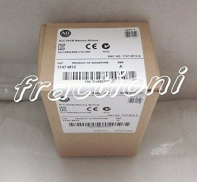 AB PLC Memory Module 1747-M13 ( 1747M13 ) New In Box, Factory Sealed !